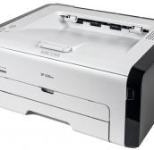 Лазерный принтер Ricoh SP 220Nw (стартовый картридж 700стр.) 408028