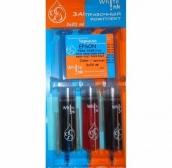 Заправочный комплект Epson T032/33/34/42/44/47/63/73/92, 3*20 мл, Color pigment