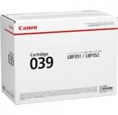 Лазерный картридж Canon 039 Original