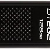 128 Gb USB3.0 Kingston DataTraveler Elite G2 DTEG2/128GB (с колпачком, металл, скорость 180/70 МБ/с, цвет черный)